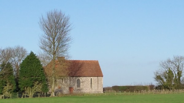 Walks And Walking - Densole Walk In Kent - St Johns Chapel