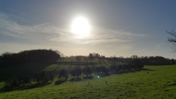 Walks And Walking - Densole Walk In Kent