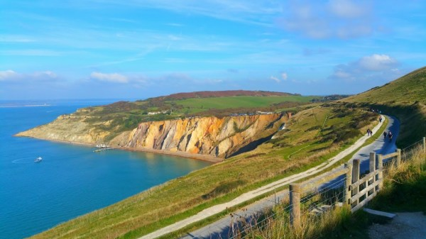 HF Holidays Guided Walk - The Needles Circular Walking Route - Alum Bay