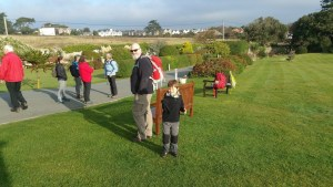 HF Holidays Guided Walk - The Needles Circular Walking Route - Getting Mustered
