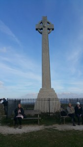 HF Holidays Guided Walk - The Needles Circular Walking Route - Tennyson Monument.
