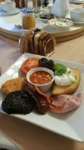 Breakfast at HF Holidays Freshwater Bay House Isle of Wight