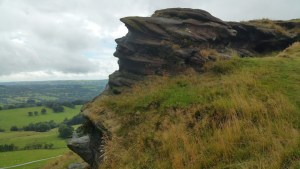 Walks And Walking - The Loaches Walk In The Peak District - Hanging Stone