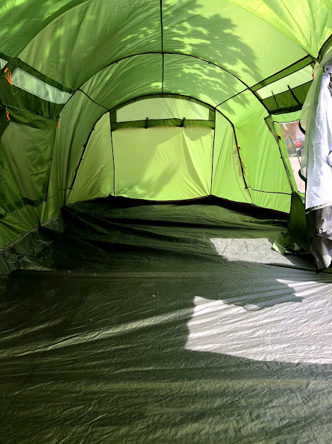 Mountain Warehouse Buxton 6 Man Tent Inside