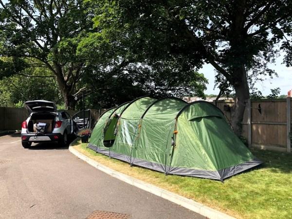 Mountain Warehouse Buxton 6 Man Tent Up