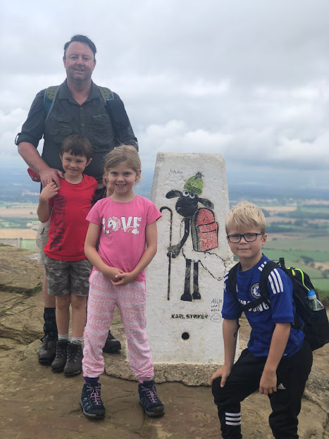 Topping Roseberry Topping