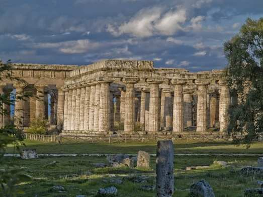 Paestum, easy to get to from Salerno, on Italy's Amalfi Coast