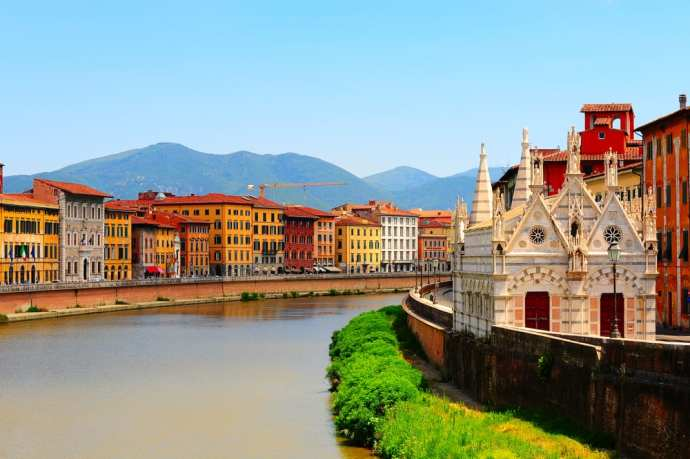 Pisa, a great day trip from Florence