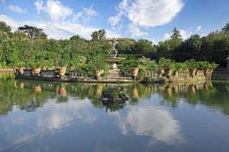 Boboli Gardens in Flornece