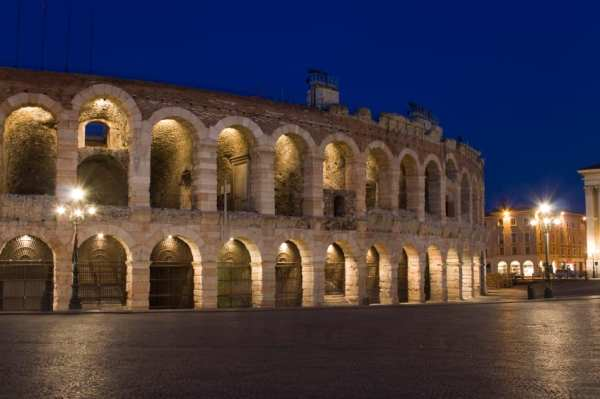 Verona's ancient arena, site of its world-famous opera