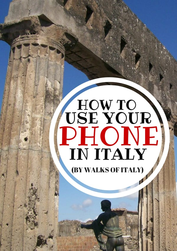 Italian ruins make take you back in time, but it doesn't mean you can't use your cell phone. Find out how to ensure that your American phone works in Italy when you visit.