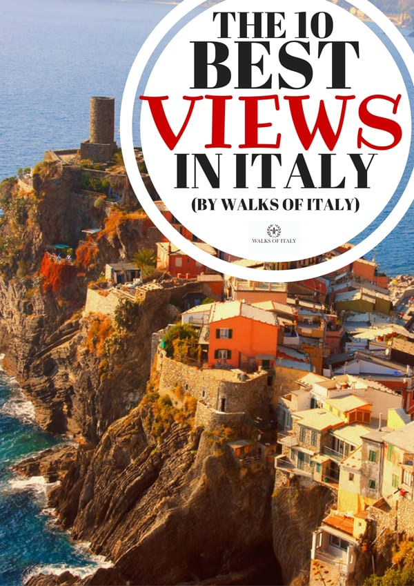 The Cinque Terre hosts some of the best views in Italy. Find out where to find the rest of the most stunning viewpoints in the country in the Walks of Italy blog.