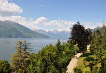Here's where the Como festival takes place, a top event this July in Italy