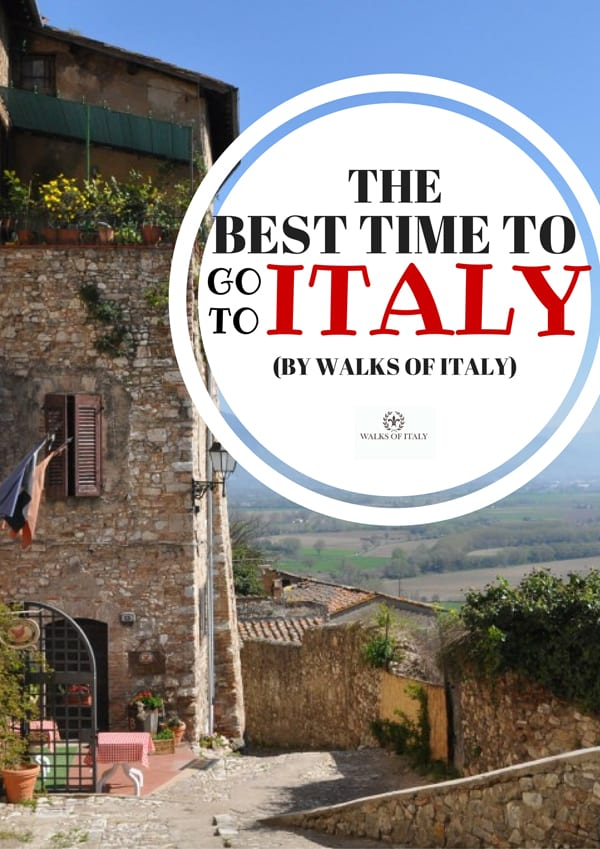 Italy has something to offer travelers at every time of year. Find out which time of year is the best for you to visit on the Walks of Italy blog.