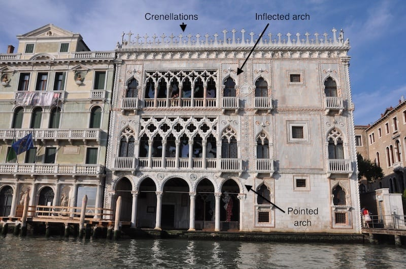 how to read venice s palaces