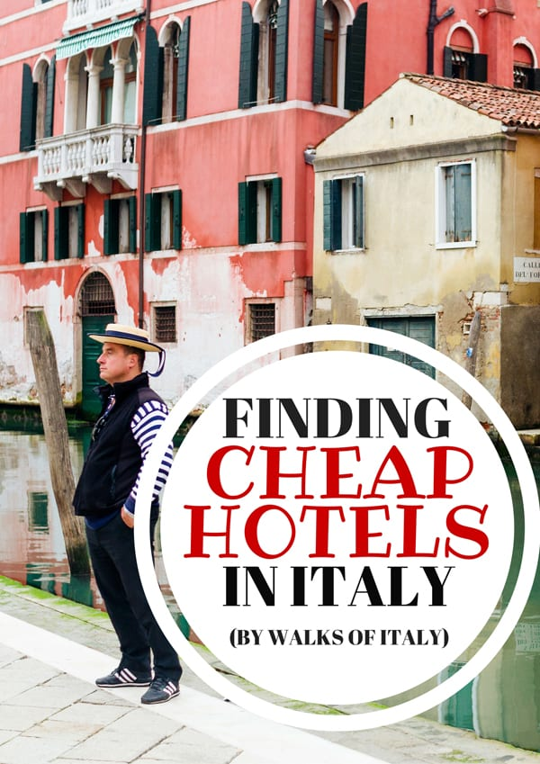 Finding cheap accommodation in places like Venice is not impossible, you just have to know a few tricks. Find out the basics on the Walks of Italy blog.