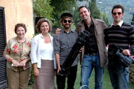 "Sarah Marder and ""Under the Tuscan Sun"" author"