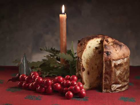 Panettone, part of the Christmas tradition in Italy