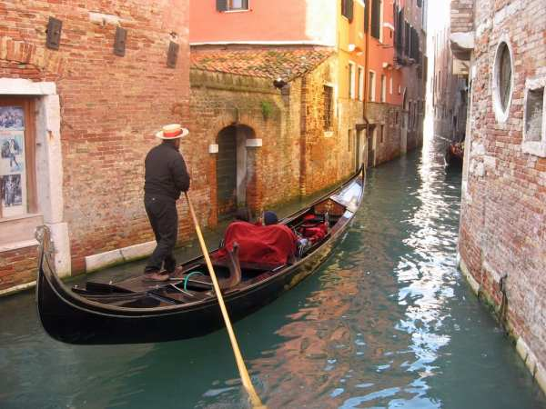 Gorgeous Venice, the perfect setting for a book