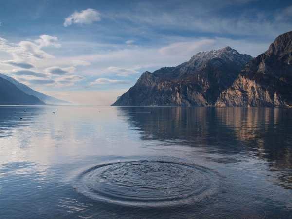 Lago di Garda, one of Italy's prettiest lakes