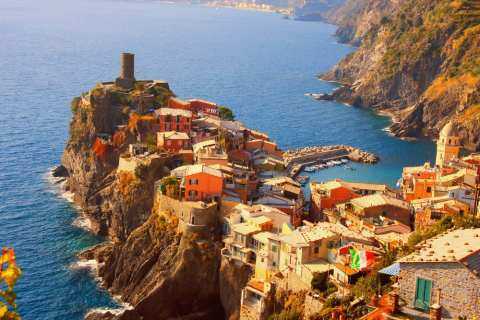 Vernazza is rebuilding, but most of the rest of the coastline is open