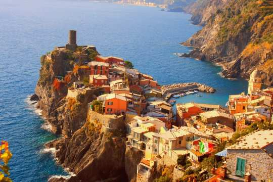 Beautiful Vernazza is easily reachable by train, if you know how to use it!