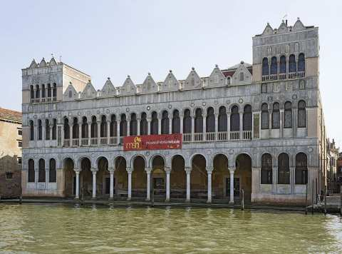 Fondaco dei Turchi, located in Santa Croce, the least touristy sestiere or neighborhood of Venice