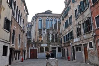 In the sestiere of Cannaregio