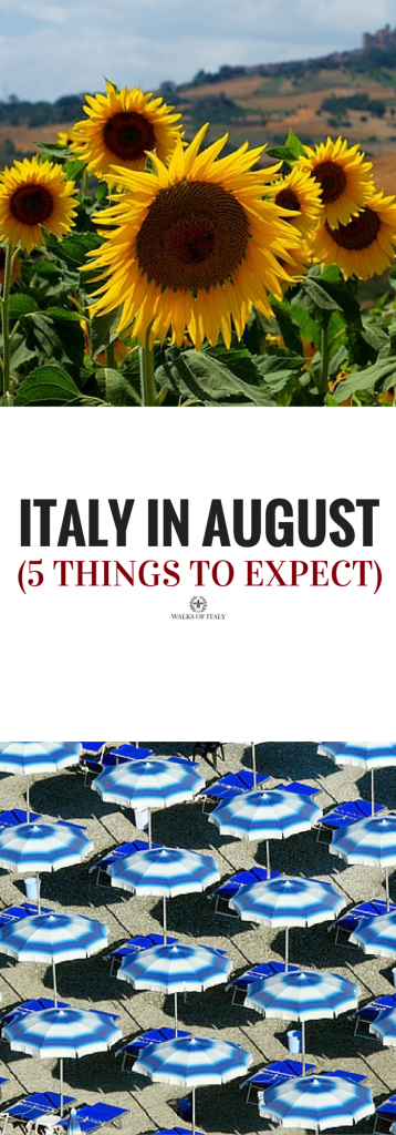 Traveing in Italy in august can be a nightmare or the best trip of your life. Find out what to expect when traveling in august.
