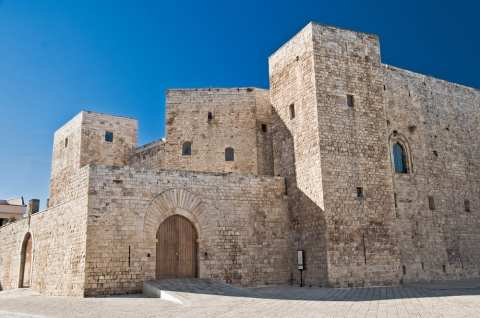 Lots of castles in Puglia