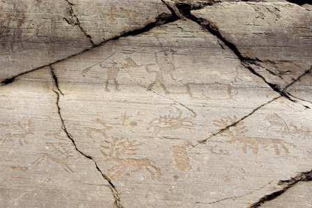 Prehistoric petroglyphs in Italy