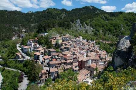Hidden gem of Subiaco in Lazio