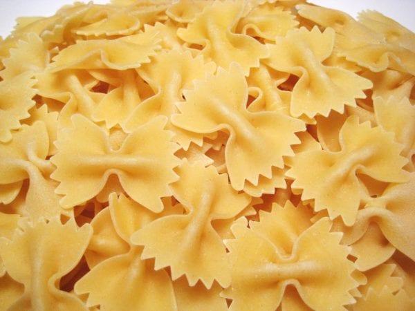 """Farfalle, or """"butterfly,"""" pasta"""