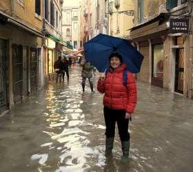 Acqua alta of Venice