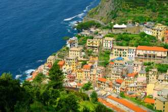 If you know how to use the Cinque Terre Train, getting to Riomaggiore is easy!