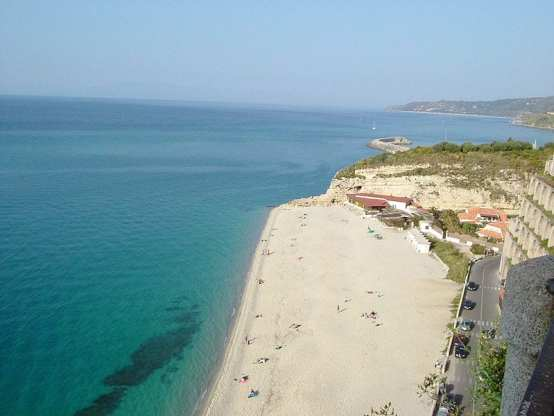 Great beach in Calabria Italy