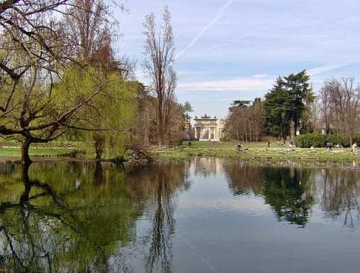 Milan city park
