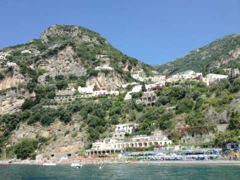 Best beach in the Amalfi coast