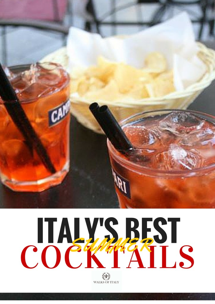 An Aperol spritz is one of the nicest cocktails to sip on a lazy afternoon in Italy. Find out what else you should be drinking on your trip to Italy this summer in the Walks of Italy guide to Italian summer cocktails!