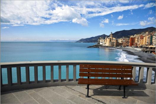 Camogli, a small Italian town