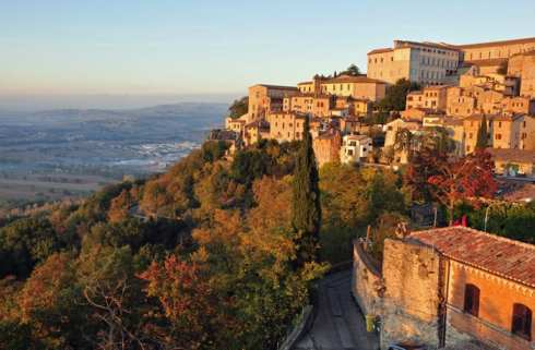 Small towns in Umbria Italy