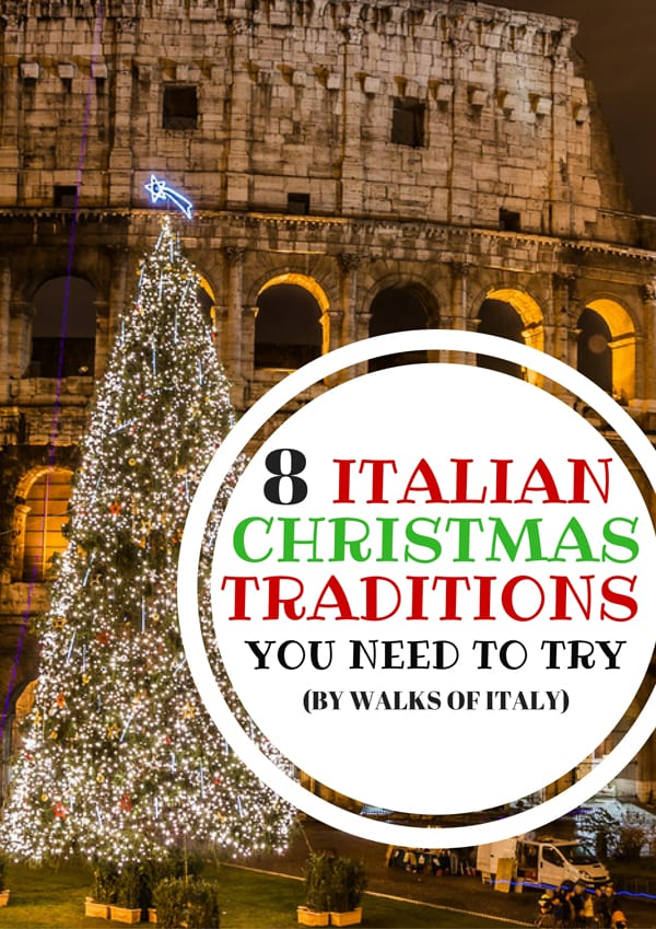 Italy has some beautiful Christmas traditions like putting a Christmas tree  front of the Colosseum. - The Best Christmas Traditions In Italy