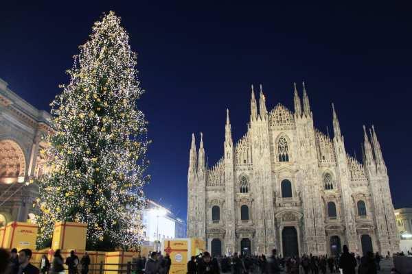 Milan at Christmas and New Year's