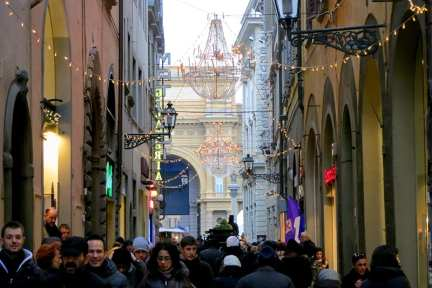 Shopping in Florence on Via del Corso