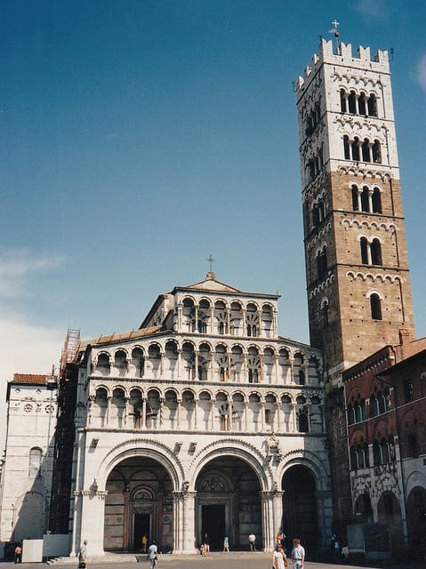 Lucca Duomo (flickr: Jeff Hart)