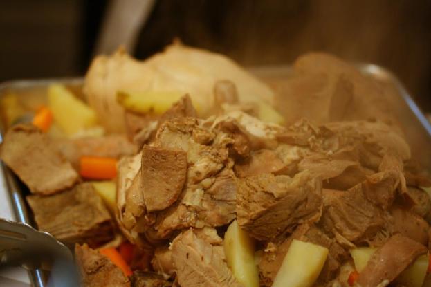 Bollito Misto, boiled meats