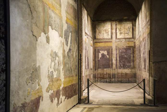 Casa di Livia, the House of Livia, dates back to the 1st century BC and is seen on Wallks of Italy's exclusive 'VIP Caesar's Palace Tour'.