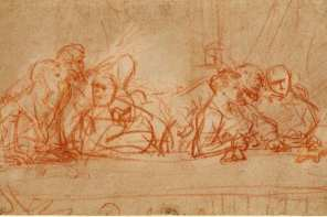 Rembrandt's sketch of Leonardo da Vinci's Last Supper is one of the many copies of this masterpiece. Find out a few things you didn't know about it!