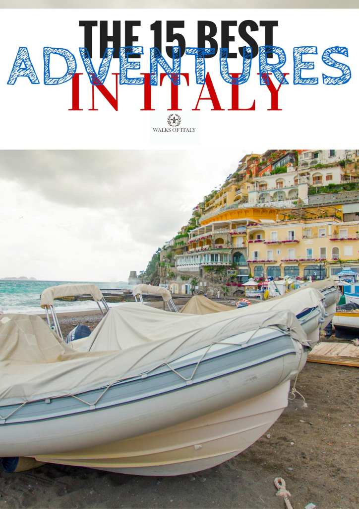 Diving on the amalfi coast from ports like Positano is one of the best adventures you can have in Italy. Check out the rest on the Walks of Italy blog.