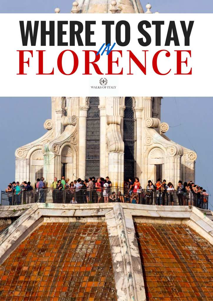 The Dome of the Florence Cathedral offers a great of view of the city's many neighborhoods. Find out where to stay in Florence when you visit this amazing city.